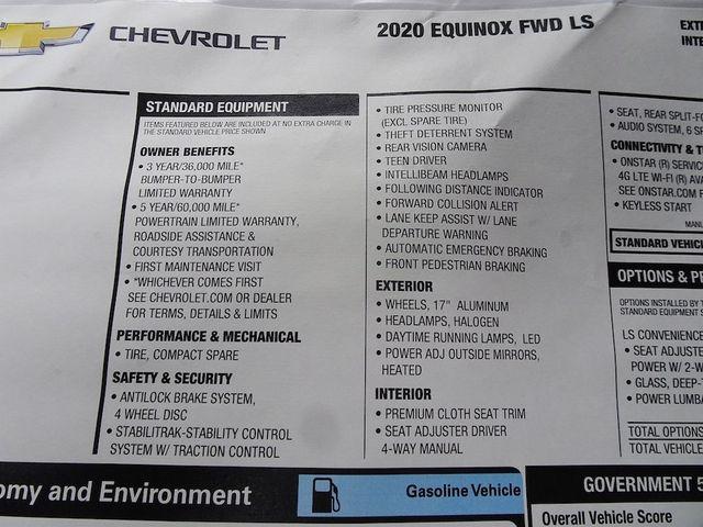 2020 Chevrolet Equinox LS Madison, NC 45