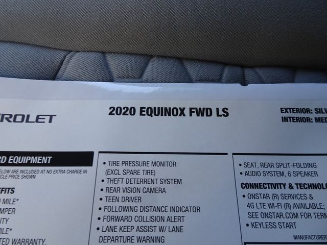 2020 Chevrolet Equinox LS Madison, NC 43