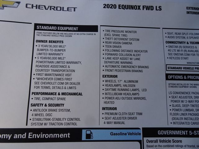 2020 Chevrolet Equinox LS Madison, NC 45