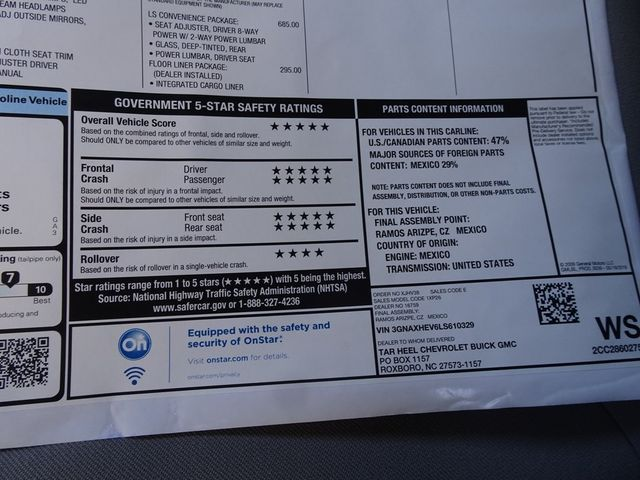 2020 Chevrolet Equinox LS Madison, NC 48