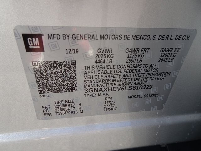 2020 Chevrolet Equinox LS Madison, NC 49