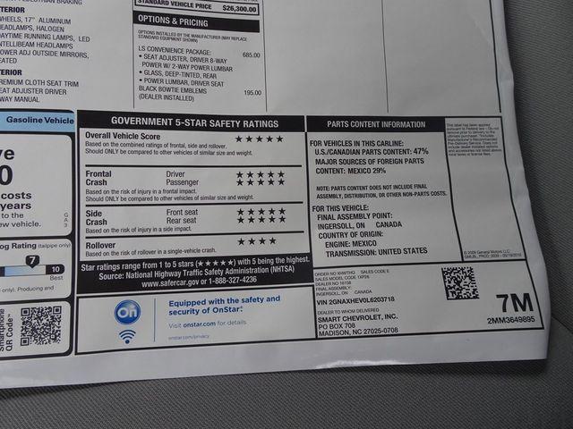 2020 Chevrolet Equinox LS Madison, NC 44