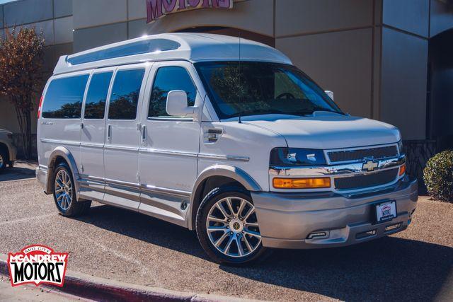 2020 Chevrolet Express Custom Van Explorer Package