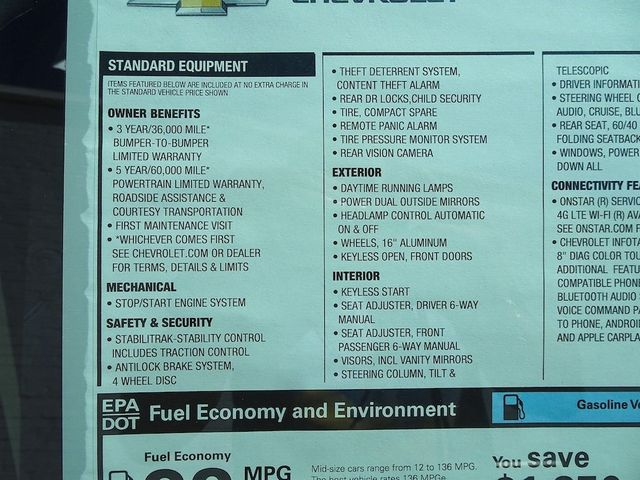 2020 Chevrolet Malibu LS Madison, NC 43