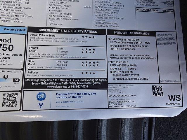 2020 Chevrolet Silverado 1500 LT Madison, NC 54