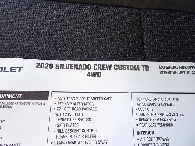 2020 Chevrolet Silverado 1500 Custom Trail Boss Madison, NC 46