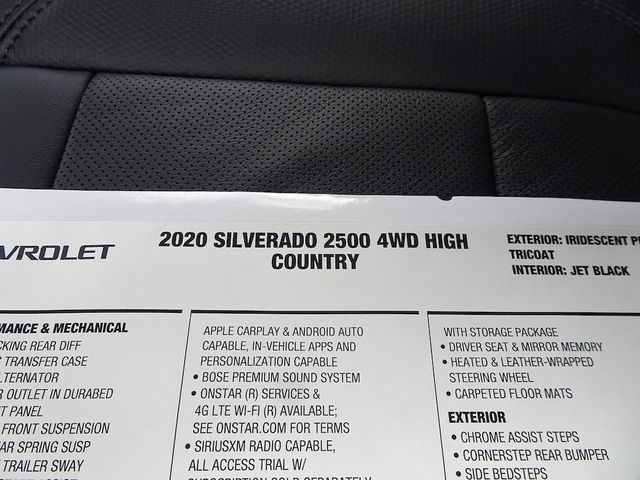 2020 Chevrolet Silverado 2500HD High Country Madison, NC 57