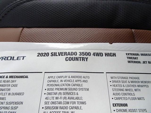 2020 Chevrolet Silverado 3500HD High Country Madison, NC 55