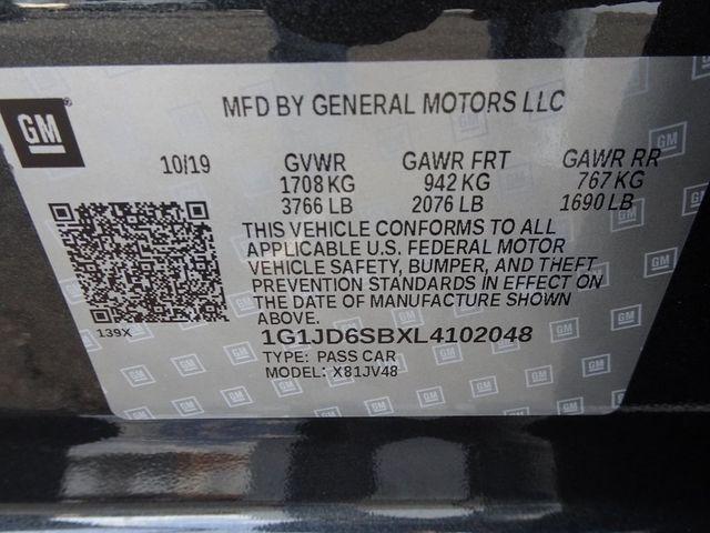2020 Chevrolet Sonic LT Madison, NC 51
