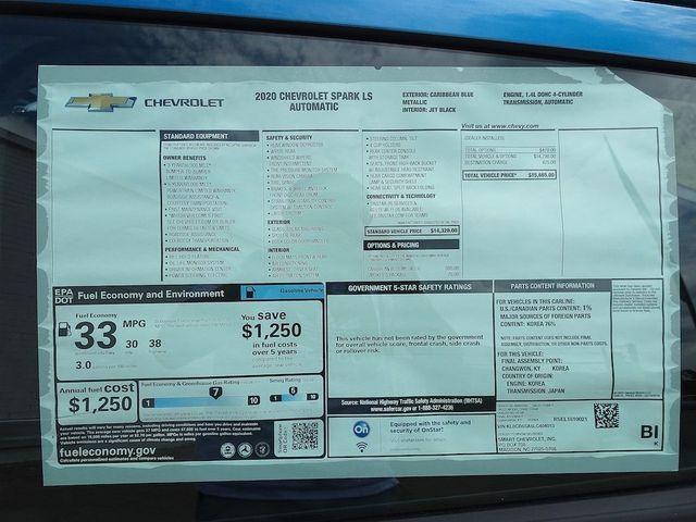 2020 Chevrolet Spark LS Madison, NC 37