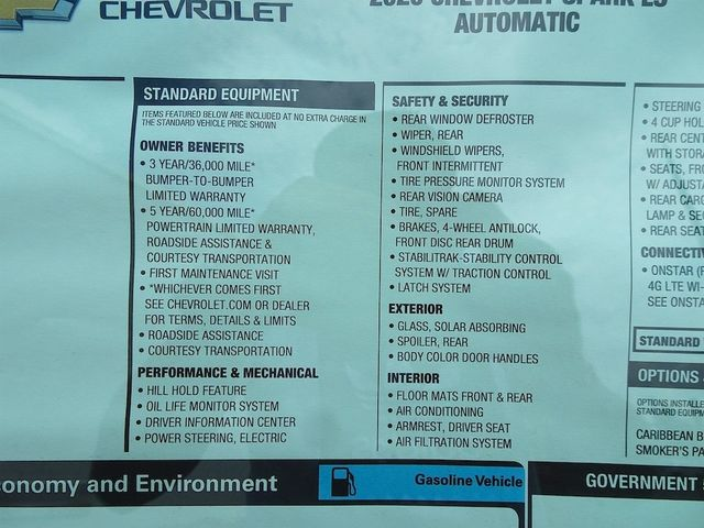 2020 Chevrolet Spark LS Madison, NC 40