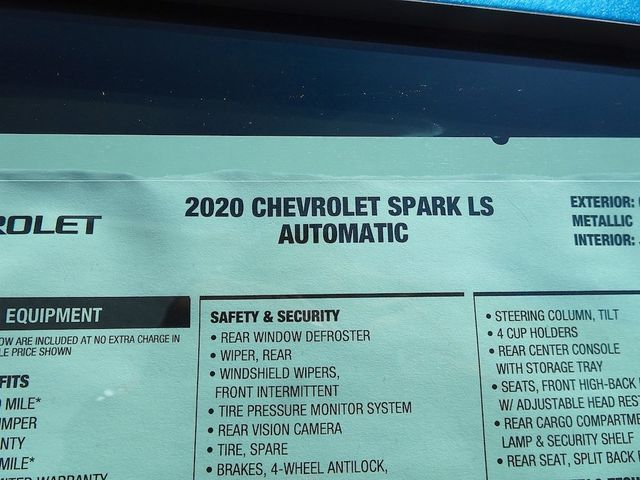2020 Chevrolet Spark LS Madison, NC 38