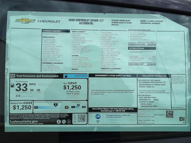 2020 Chevrolet Spark LT Madison, NC 40