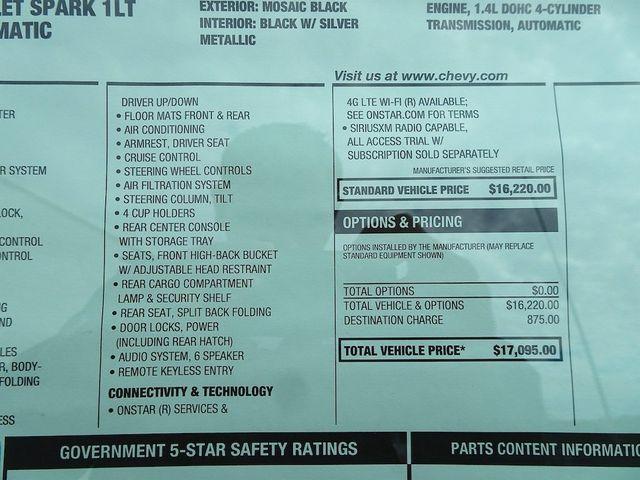 2020 Chevrolet Spark LT Madison, NC 44