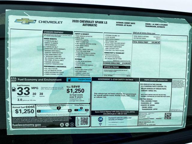 2020 Chevrolet Spark LS Madison, NC 14