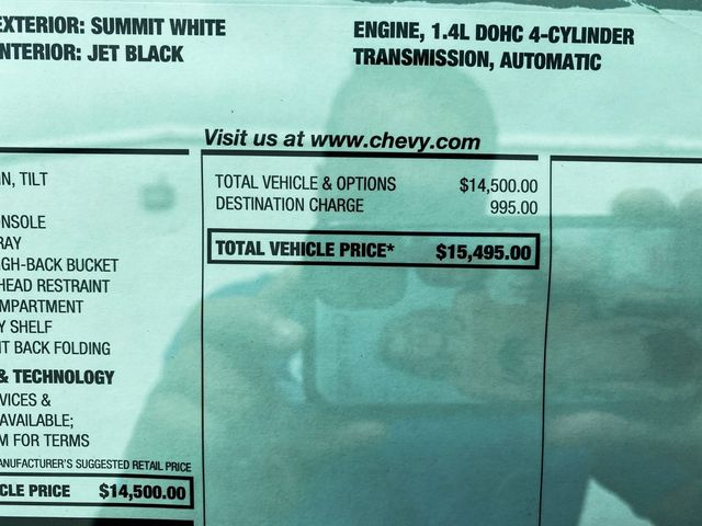 2020 Chevrolet Spark LS Madison, NC 18