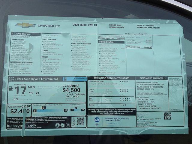 2020 Chevrolet Tahoe LS Madison, NC 43