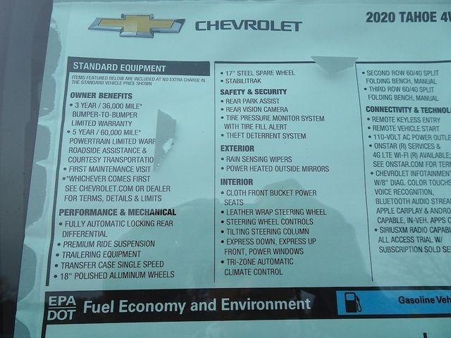 2020 Chevrolet Tahoe LS Madison, NC 46