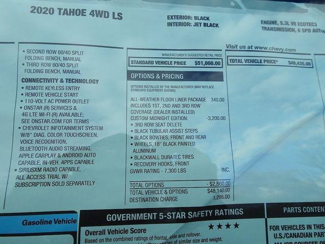 2020 Chevrolet Tahoe LS Madison, NC 50
