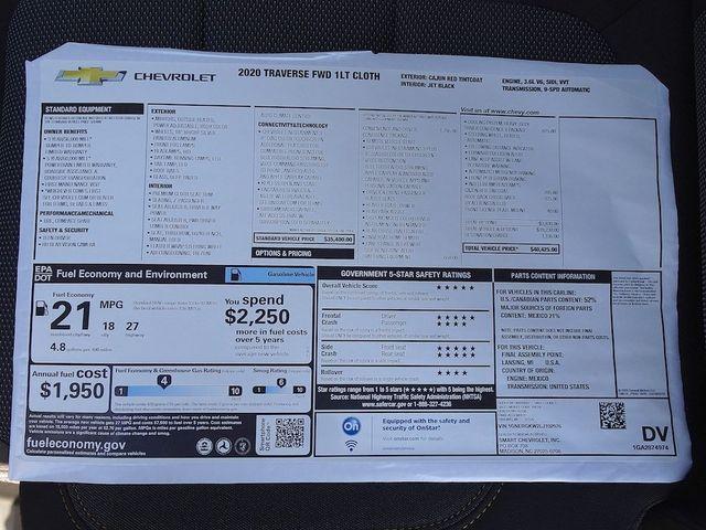 2020 Chevrolet Traverse LT Cloth Madison, NC 48