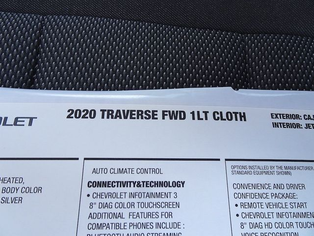 2020 Chevrolet Traverse LT Cloth Madison, NC 49