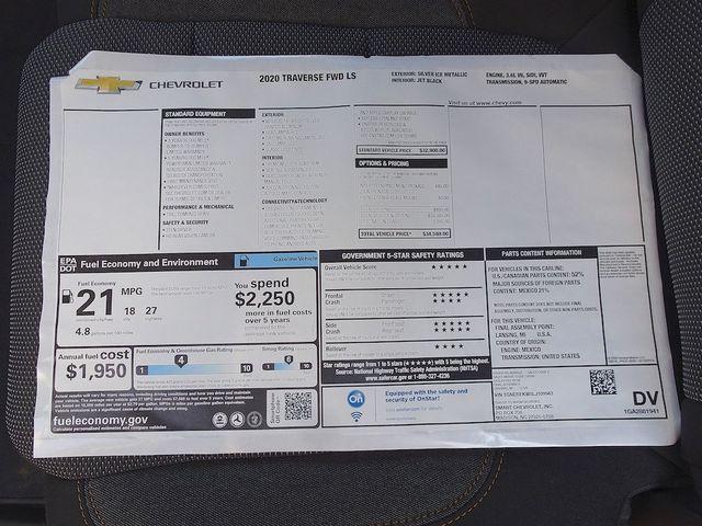 2020 Chevrolet Traverse LS Madison, NC 45