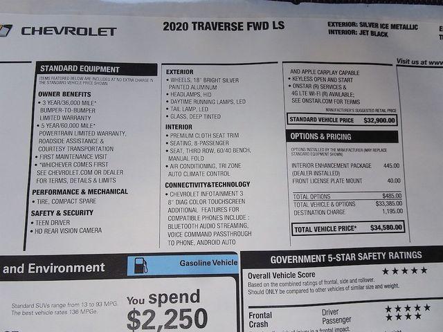 2020 Chevrolet Traverse LS Madison, NC 48