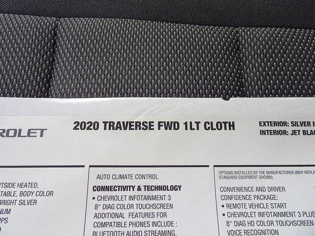 2020 Chevrolet Traverse LT Cloth Madison, NC 48