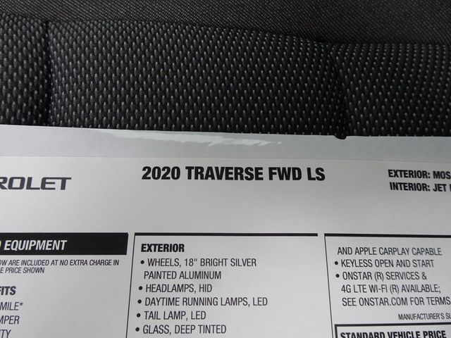 2020 Chevrolet Traverse LS Madison, NC 47