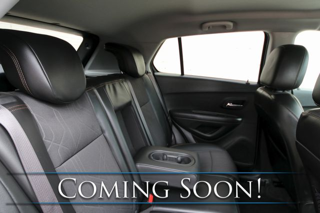 2020 Chevrolet Trax LT Ecotec Turbo Midnight Edition w/Backup Cam, Blind Spot Assist & Touchscreen Multimedia in Eau Claire, Wisconsin 54703