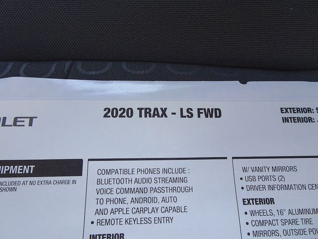 2020 Chevrolet Trax LS Madison, NC 41