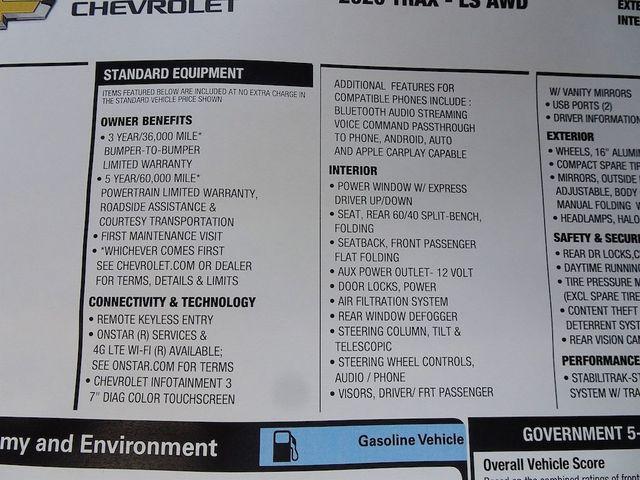 2020 Chevrolet Trax LS Madison, NC 44