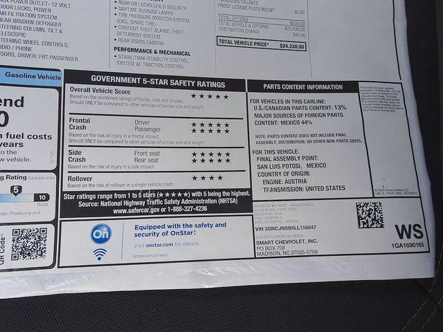 2020 Chevrolet Trax LS Madison, NC 47
