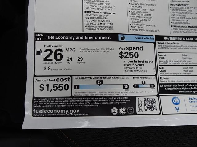 2020 Chevrolet Trax LS Madison, NC 45