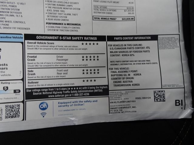 2020 Chevrolet Trax LS Madison, NC 46