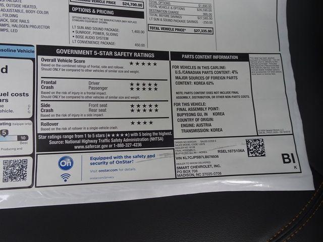 2020 Chevrolet Trax LT Madison, NC 49
