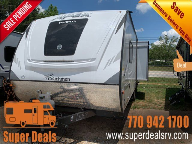 2020 Coachmen Apex Nano 213RDS in Temple, GA 30179