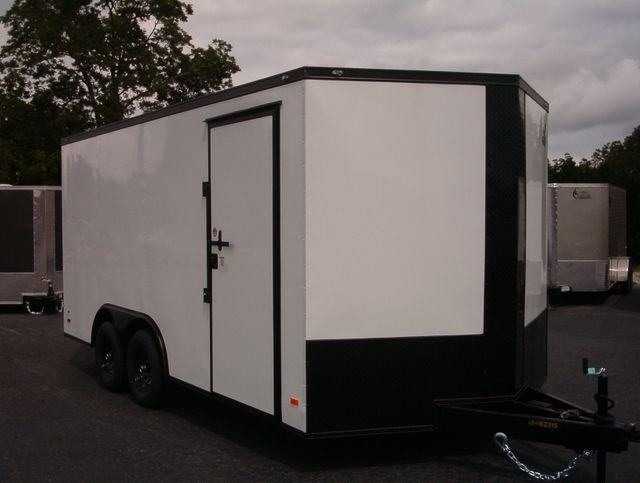 2020 Covered Wagon Enclosed 8 1/2x16 5 Ton 7Ft Interior