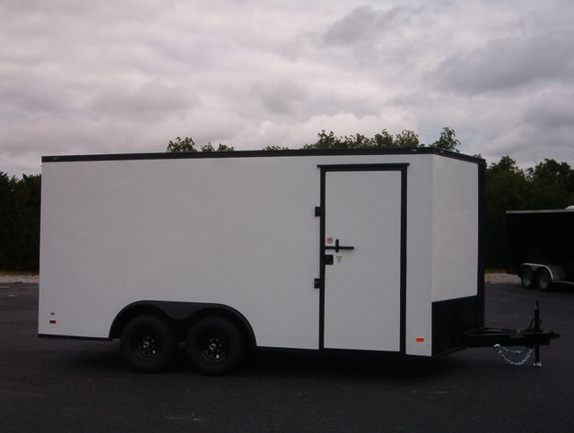 2020 Covered Wagon Enclosed 8 1/2x16 5 Ton 7Ft Interior in Madison, Georgia 30650