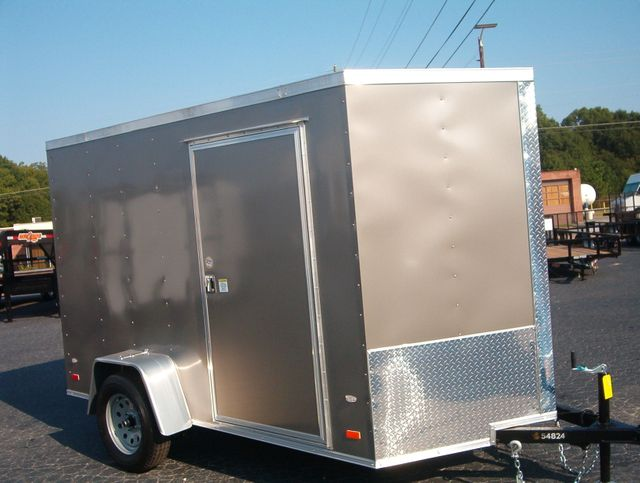 "2020 Covered Wagon Enclosed 6x10 6'3"" Interior Height in Madison, Georgia 30650"