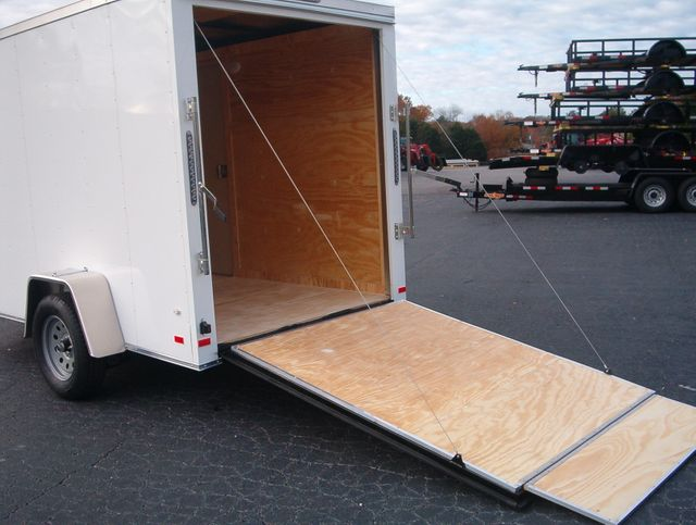"""2020 Covered Wagon Enclosed 6x10 6'6"""" Interior Height in Madison, Georgia 30650"""