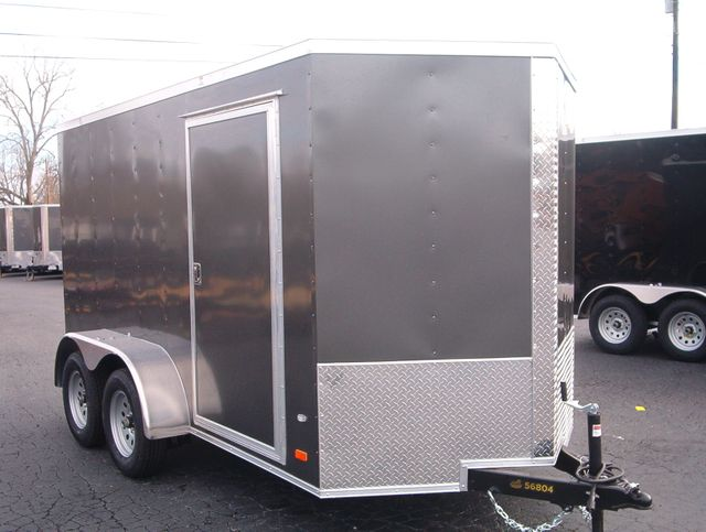 "2020 Covered Wagon Enclosed 6x12 6'3"" Interior Height"