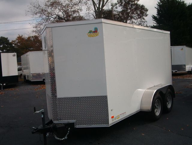 """2020 Covered Wagon Enclosed 6x12 6' 3"""" Interior Height in Madison, Georgia 30650"""
