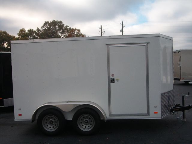 "2020 Covered Wagon Enclosed 6x12 6' 3"" Interior Height in Madison, Georgia 30650"