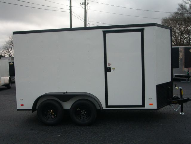 """2020 Covered Wagon Enclosed 6x12 6'6"""" Interior Height in Madison, Georgia 30650"""