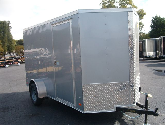 "2020 Covered Wagon Enclosed 6x12 6'6"" Interior Height"