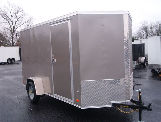 "2020 Covered Wagon Enclosed 7x12 6'3"" Interior Height in Madison, Georgia 30650"