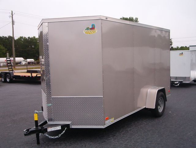 "2020 Covered Wagon Enclosed 6x12 6'6"" Interior Height in Madison, Georgia 30650"