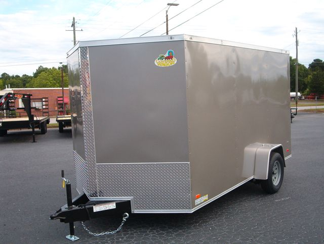 """2020 Covered Wagon Enclosed 7x12 6'3"""" Interior Height in Madison, Georgia 30650"""