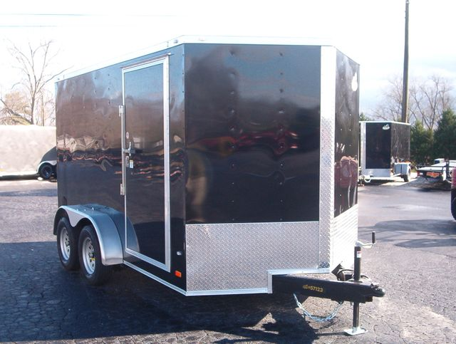 """2020 Covered Wagon Enclosed 7x12 Trailer 6,6"""" interior Height"""